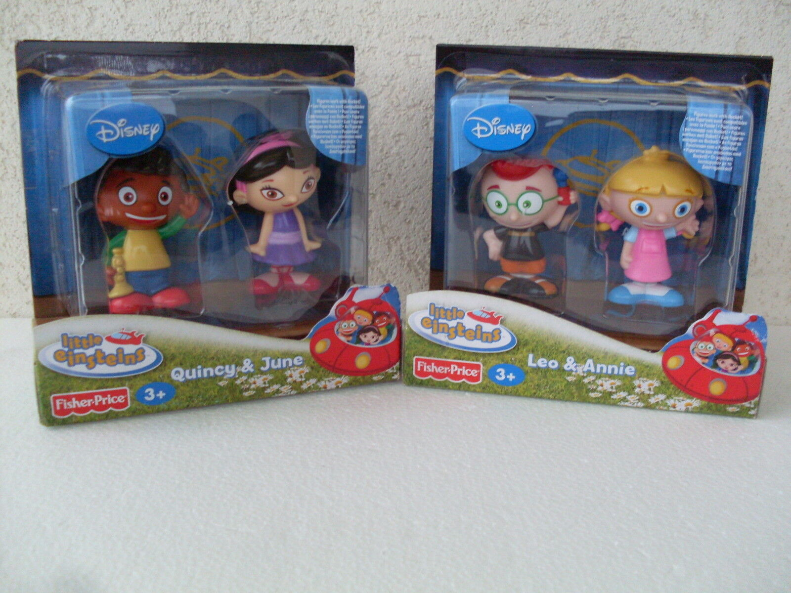 Quincy june leo annie little einsteins rocket personaggi characters personnages