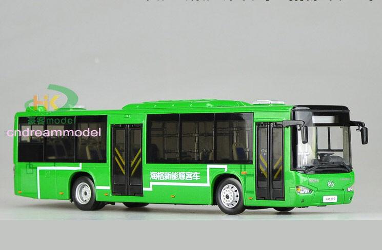 1 43 guld drake Higer B92H New Energy buss Die Cast modelllllerlerl