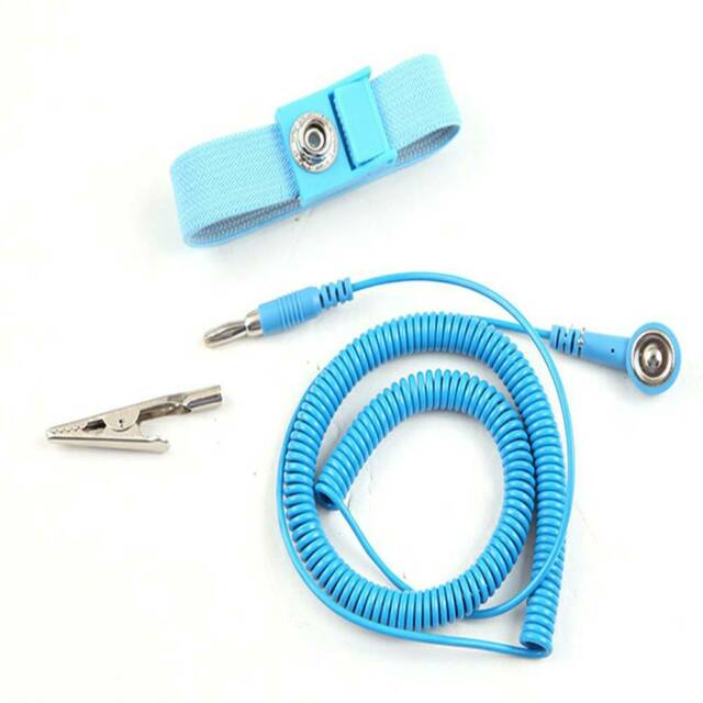 Anti Static Bracelet Electrostatic ESD Discharge Cable Reusable Wrist Band-