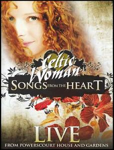 CELTIC-WOMAN-SONGS-FROM-THE-HEART-LIVE-PAL-R4-DVD-IRISH-CELTS-NEW