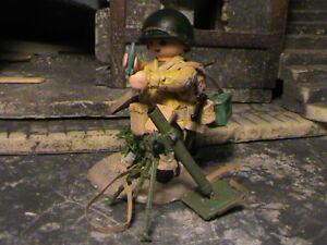 Playmobil Personnalisé Us Infanterie Division (francia-1945) Ref-0223 Bis