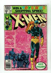 Uncanny-X-Men-138-GD-VG-3-0-Cyclops-Quits