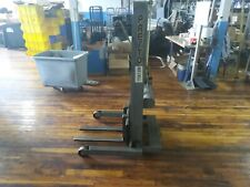 Presto Manual Hydraulic Stacker Lift Pre Owned