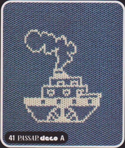 Original Deco Lochkarten für Passap Pfaff Duomatic 80