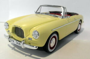 Bos-1-18-Scale-resin-193563-Volvo-P1900-Sport-roadster-pale-yellow