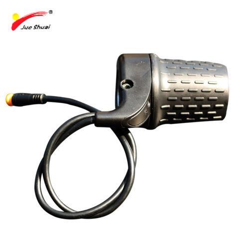 Jueshuai Half Twist Throttle for ebike 36V 48V 72V Electric Bike gas knob