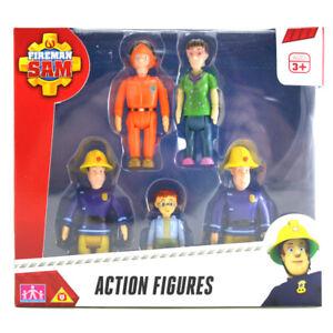 Fireman sam action cinq figurine pack neuf