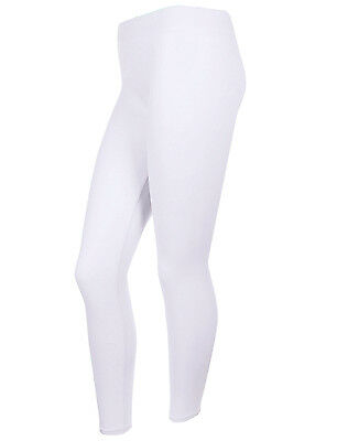 [PLUS SIZE] Basic Solid Plain Long Leggings Gym Athletic Running  Spandex