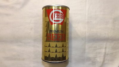 Vintage Grand Union Florida Beer Can Steel  q