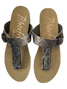 Blowfish GRECO Thong Sandals 6.5