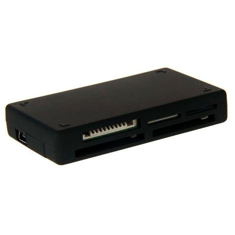 Memory Card Reader USB 2.0 Computer Sync Card Adapter SD TF CF MMS Card Reader