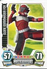 Star Wars Force Attax Series 3 Card #44 Clone Commander Fox