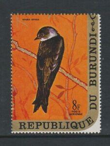 Burundi - 1970, 8f Sand Martin, Bird stamp - MNH - SG 563