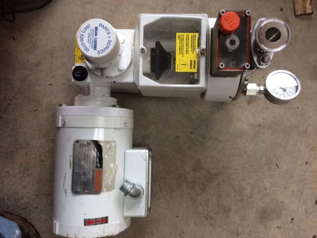 bran luebbe metering pump model n p 31 w reliance 3 4 hp motor ebay rh ebay com