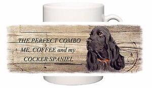 COCKER-SPANIEL-black-DOG-NEW-MUG-COMBO-SANDRA-COEN-ARTIST-WATERCOLOUR-PRINT