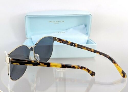 Brand New Authentic Karen Walker Sunglasses STAR SAILOR Tortoise Gold Frame