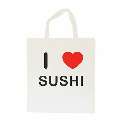 I Love Sushi - Cotton Bag | Size choice Tote, Shopper or Sling