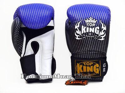 NWT TOP KING Boxing gloves Silver TKBGSS 01 Super Star Air MMA Muay Thai gloves