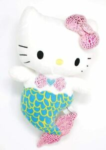 Sanrio-Hello-Kitty-Mermaid-Plush-Figure-Stuffed-Girls-Gift-Toy-Doll-12-034-Kids-Cat
