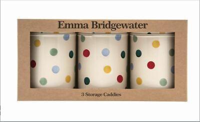 Emma Bridgewater Noir Toast /& Marmelade Set de 3 Cadeaux Coffret Thé Café /& Sucre