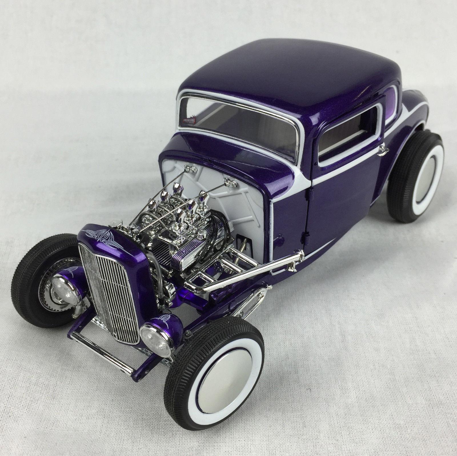 Acme 1932 ford 5 fenster vintage - coupé 2 hot rod - 1,18 gmp a1805009