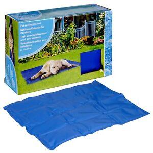 Pet Self Cooling Gel Mat Summer Heat Dog Cat Resting 50 x 40cm