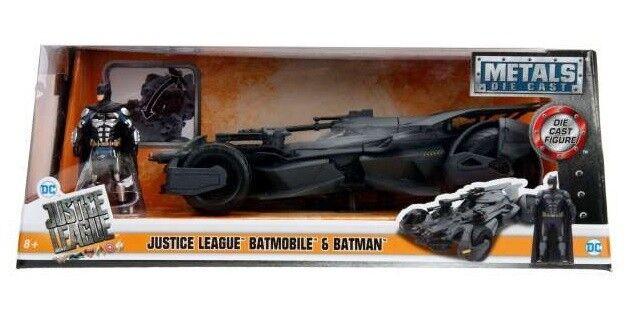 JADA 99232 - 1 24 2017 JUSTICE LEAGUE BATMOBILE WITH BATMAN FIGURE