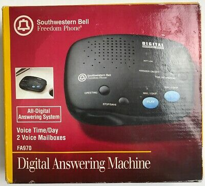 SOUTHWESTERN BELL FA-970 Digital Answering System with 2 Voice ...