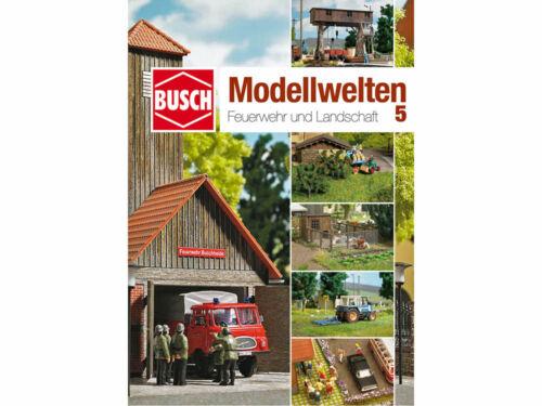 Busch 999815 bastelheft modelo mundos 5 bomberos y paisaje