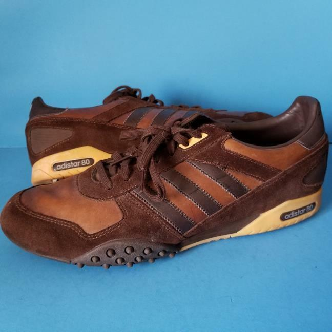 ADIDAS Adistar80 SNEAKERS Brown SHOES Track SOCCER Turf 2006 Sz 11.5 Rare ! Great discount