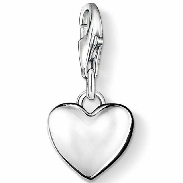 Nuevo Genuino Thomas Sabo esmalte de plata encanto colgante globo encanto ref 0923 RRP £ 74