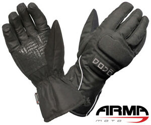 Motorcycle-Gloves-ARMR-DOJO-WP220-Textile-Thermal-Waterproof-Windproof-XXXL-3XL