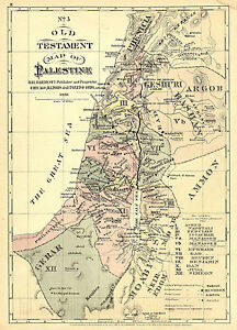 Details about 1881 Old Testament Bible Map of Palestine Israel Wall on palestinian people, map of prehistoric palestine, west bank, map palestine in jesus day, ottoman empire, map of original palestine, map of turkish palestine, jordan river, canaan palestine, map of first century palestine, new testament palestine, map of roman palestine, middle east, map of ancient bible lands, map of historical palestine, map of israel palestine, gaza strip, six-day war, palestinian territories, dead sea, cities in palestine, map of british palestine, map of medieval palestine, yasser arafat, map of ancient palestine, map of modern day palestine, map of jesus palestine,