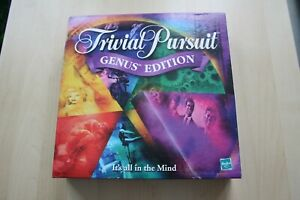 TRIVIAL-PURSUIT-GENUS-EDITION-COMPLETE-By-PARKER-HASBRO