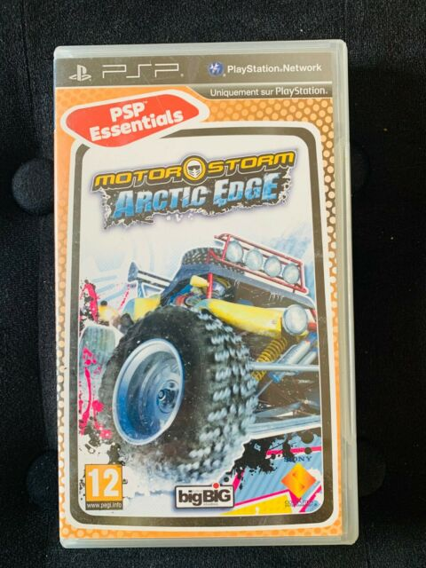 MotorStorm Arctic Edge - Jeu PSP Complet