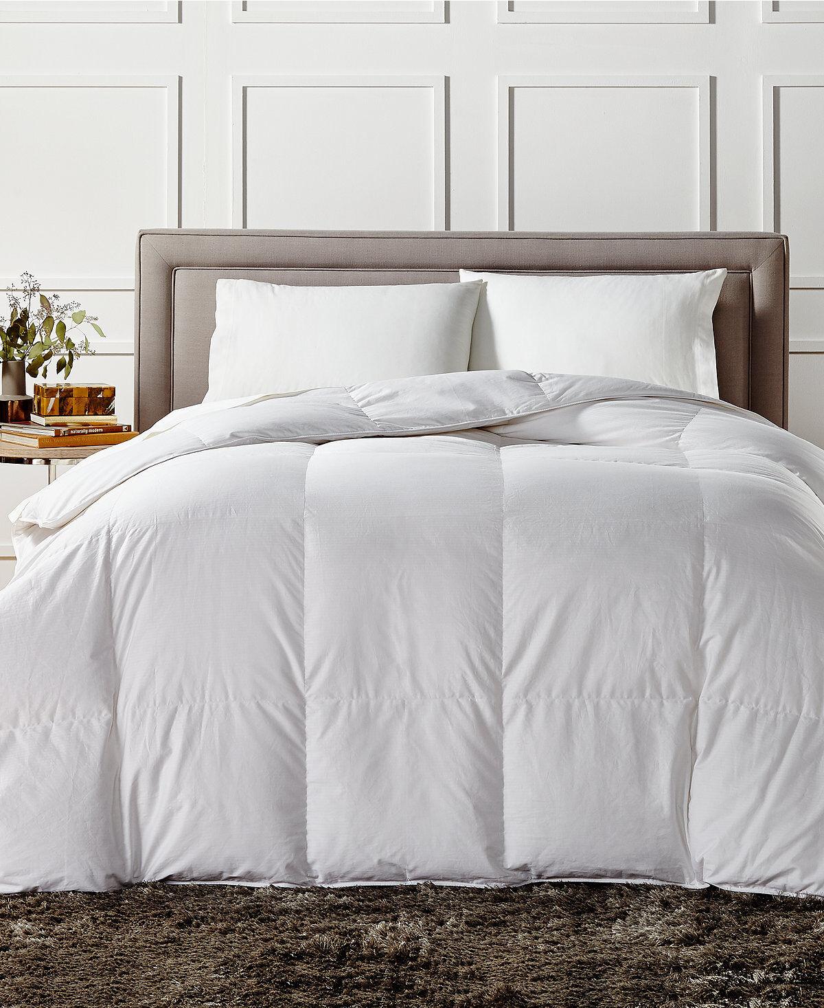 Charter Club European Weiß Down Medium Weight King Comforter  480 New