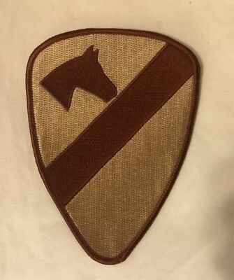 Authentic US Army Battle Flag Subdued desert camo Right arm patch