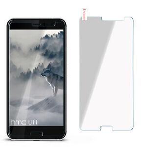 Film-Blinde-Verre-Pour-HTC-U11-Dur-Effacer-Protection-Clair-D-039-Ecran
