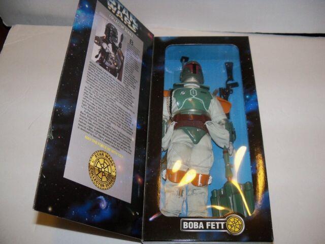 """Retired nisb KENNER Star Wars 1/6 Mandalorian Bounty Hunter BOBA FETT 12"""" Figure"""
