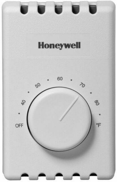 Honeywell CT410B Thermostat Manual 4-Wire for Baseboard Elec