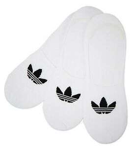 Adidas-Men-Original-No-Show-3-Pairs-Socks-White-Run-Casual-Fashion-Sock-CV5941