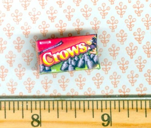 Dollhouse Miniatures  Size LICORICE Candy Box