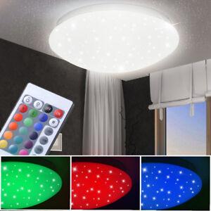 RGB-LED-Decken-Leuchte-Kinder-Zimmer-Sternen-Himmel-Effekt-Lampe-FERNBEDIENUNG