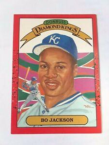 ! Vintage 1990 Bo Jackson Donruss King OF kings