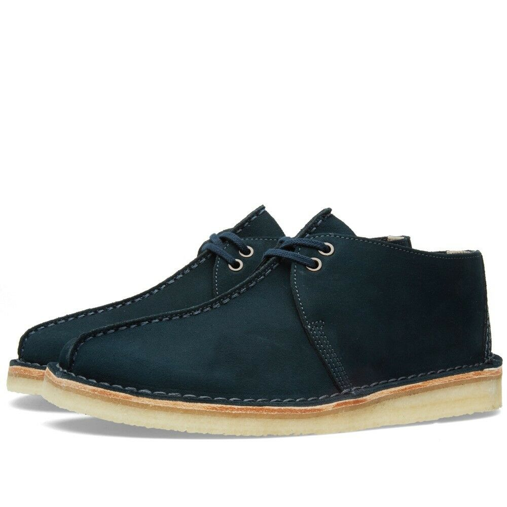 Clarks Originals Men  Desert Trek Midnight bluee  UK 9.5   US 10.5 G