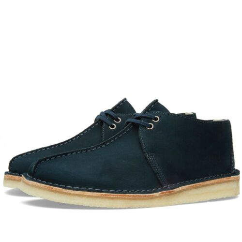 Clarks Originals Men Desert Trek Midnight Blue UK 9.5 US 10.5 G