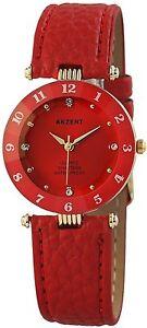 Cutglas-Damenuhr-Rot-Gold-Analog-Metall-Leder-Armbanduhr-Quarz-D-60412117642600