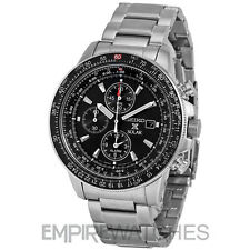 *NEW* SEIKO PROSPEX FLIGHTMASTER ALARM PILOT SOLAR WATCH - SSC009P1 - RRP £279