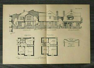 GFA-Blatt-Wohnhaus-fuer-2-Familien-1926-Architektur-Werner-Issel-Grundriss-Haus