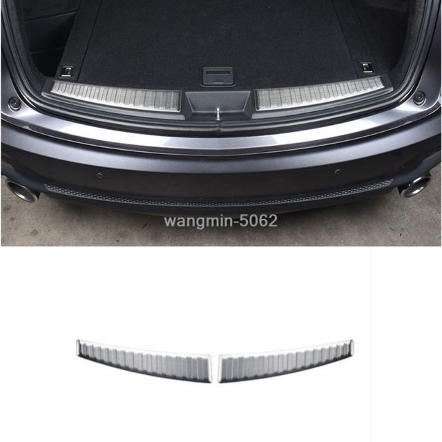 FOR 2019 Acura RDX Stainless Steel Rear Bumper Protect